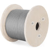 "T304 Stainless Steel Cable Wire Rope,3/8"",7x19,150ft Aircraft Reel Petroleum"