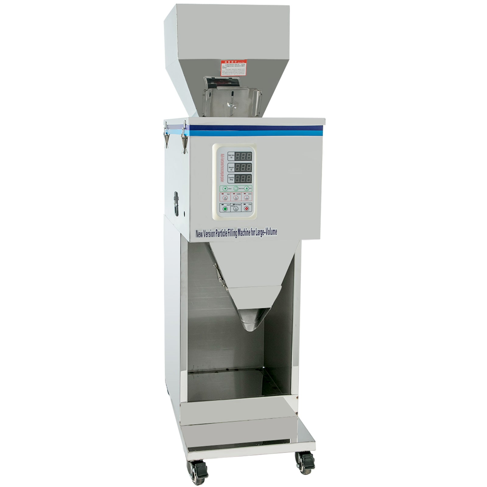 10-999g Particle Powder Filling Machine Volume Grains Seeds 5-25kg Hopper