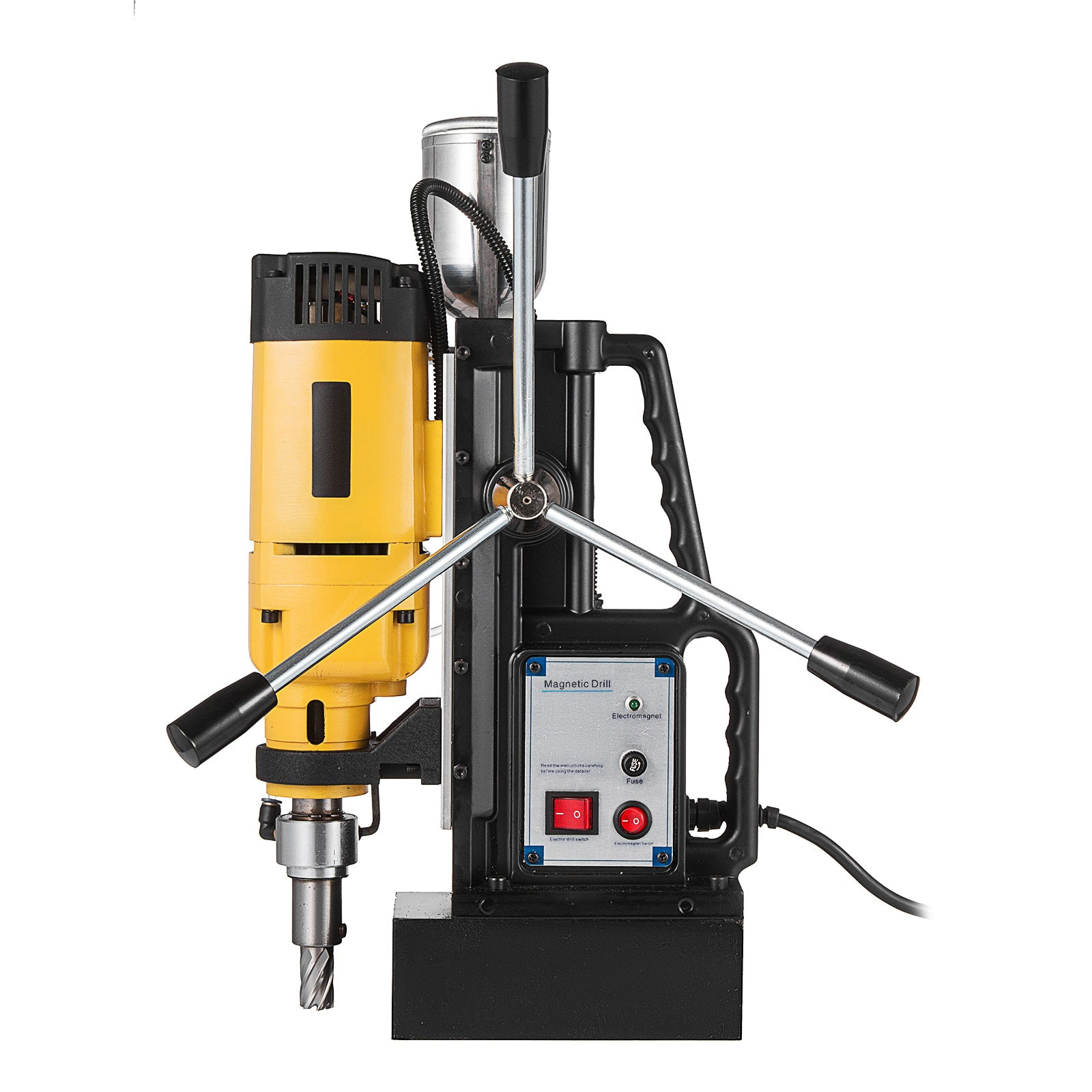 "1680w Md-50 Magnetic Drill Press 2"" Boring 2900 Lbs Magnet Force Tapping"