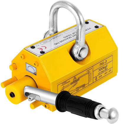 Magnetic Lifter 300kg Metal Lifting 660 Lb Magnetic Lift Hoist Steel
