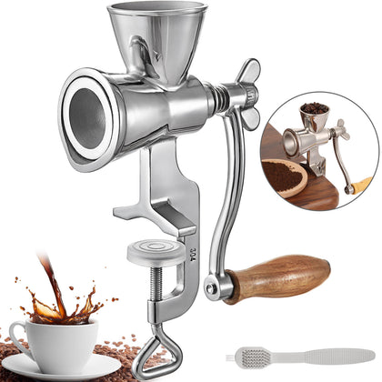 Manual Grain Grinder Manual Grain Mill Stainless Steel Manual Coffee Grinder