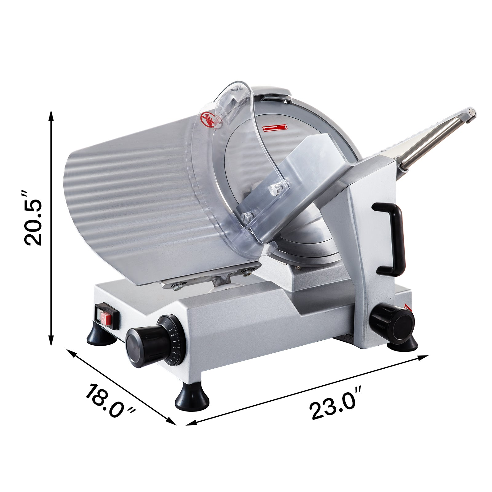 "Vevor 12"" Blade Commercial Meat Slicer Meat Cheese Food Slicer Industrial"