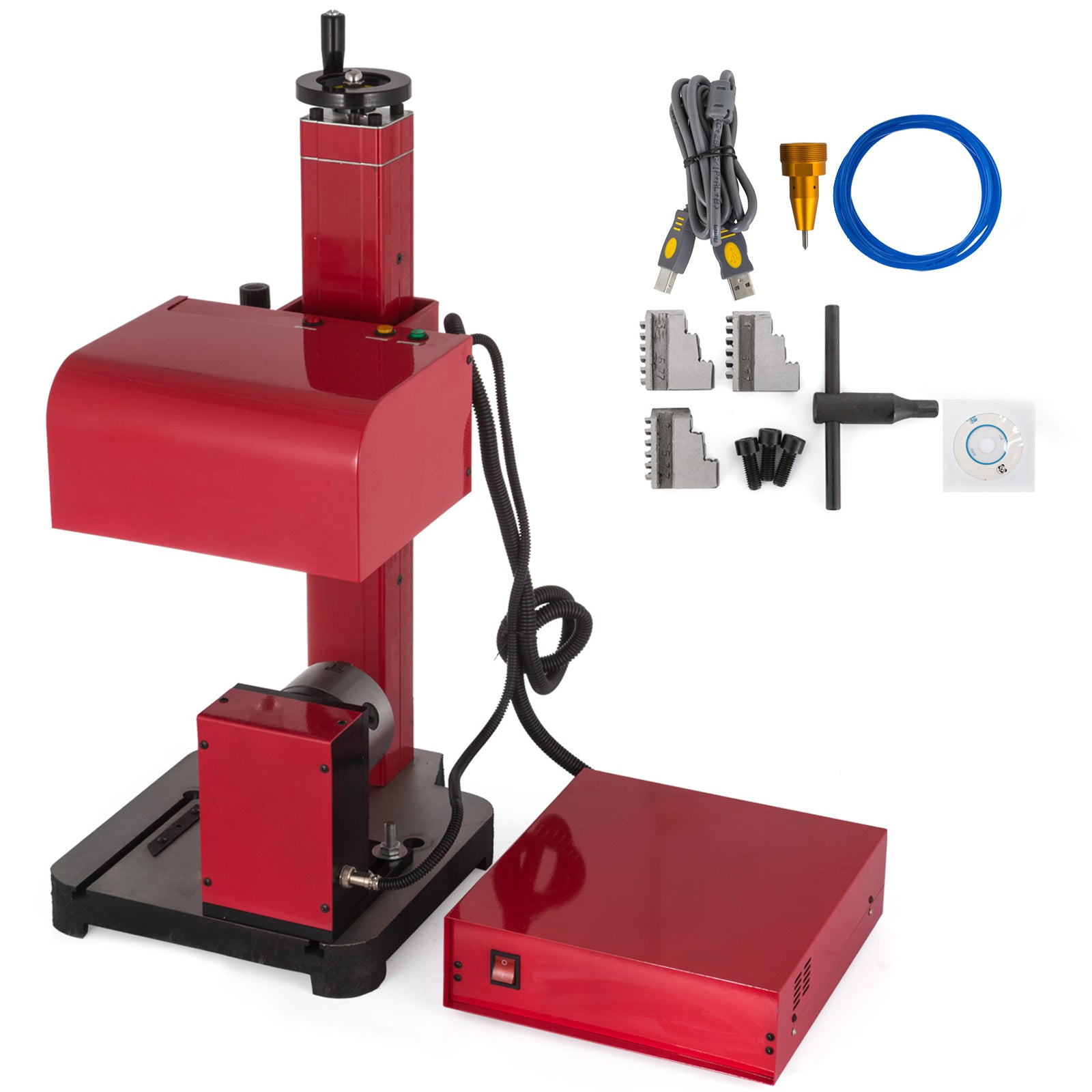 17x11cm Pneumatic Marking Machine & Rotary Tool 7x4.4 Inch Serial Number Code