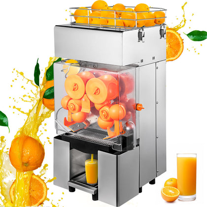 Electric Commercial Orange Juicer Squeezer Juice Machine Citrus Press Machine