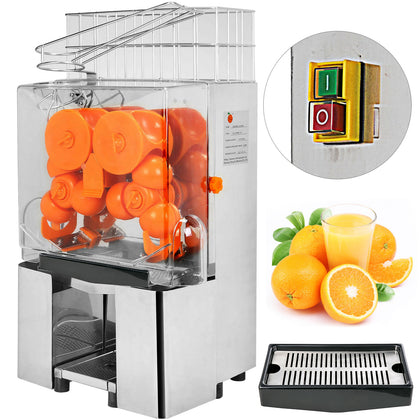 Commercial Electric Orange Squeezer Juice Hotels Bar Extractor Machine