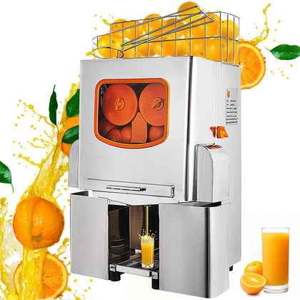 Electric Commercial Orange Juicer Squeezer Juice Machine Citrus Press Shop