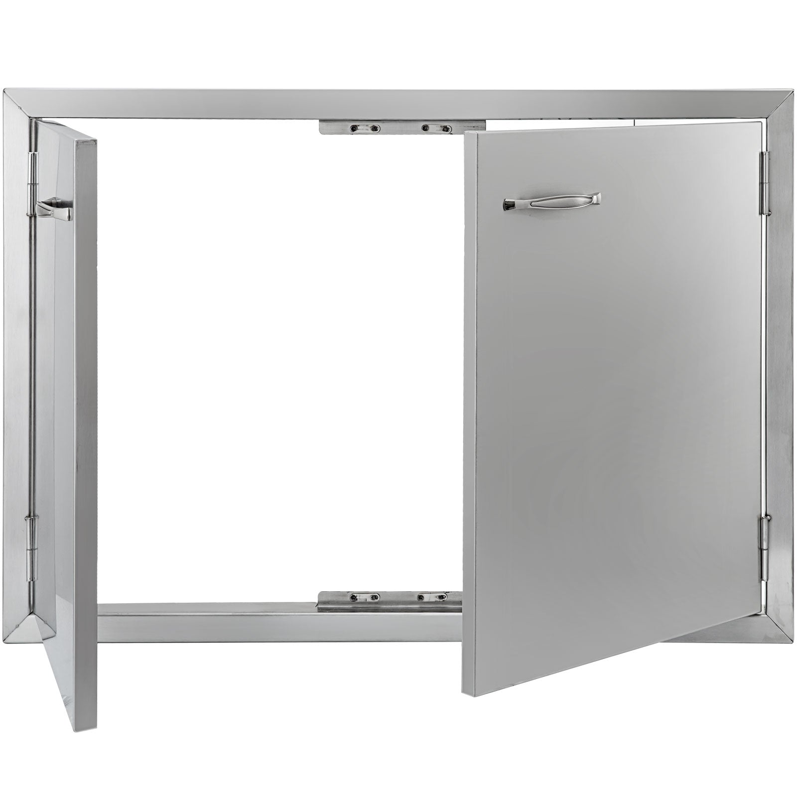 "33"" Stainless Steel Double Access Bbq Door Professional Double Walled Grills"