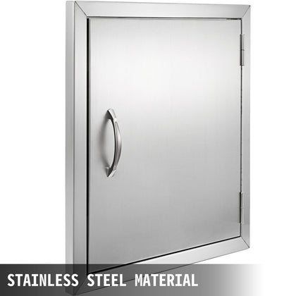 304 Stainless Steel 17 X 15 Single Access Door For Outdoor Kitchen Bbq Island