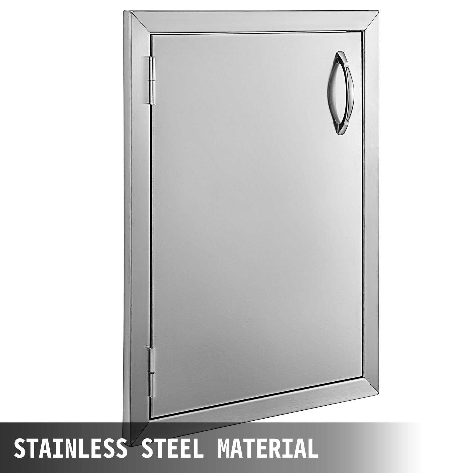 "Single Walled Access Door 22"" Outdoor Kitchen / Bbq Island 304 Stainless Steel"