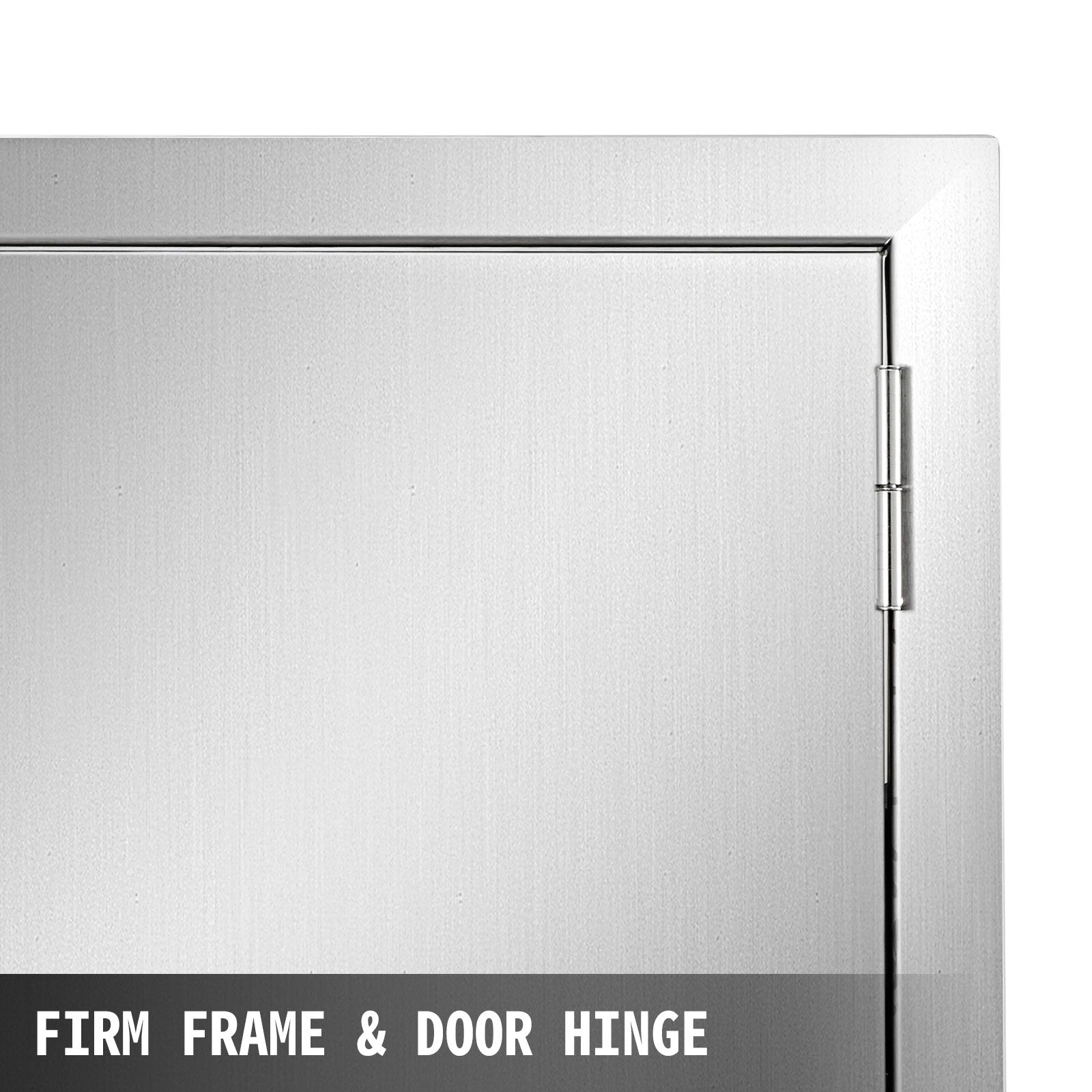 304 Stainless Steel 20 X 18 Single Access Door For Outdoor Kitchen Bbq Island