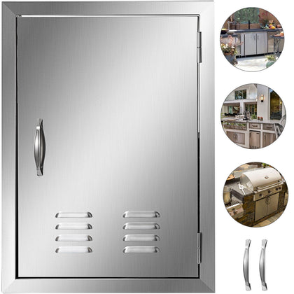 Stainless Steel 24 X 17 Single Access Door For Outdoor Kitchen Bbq Island