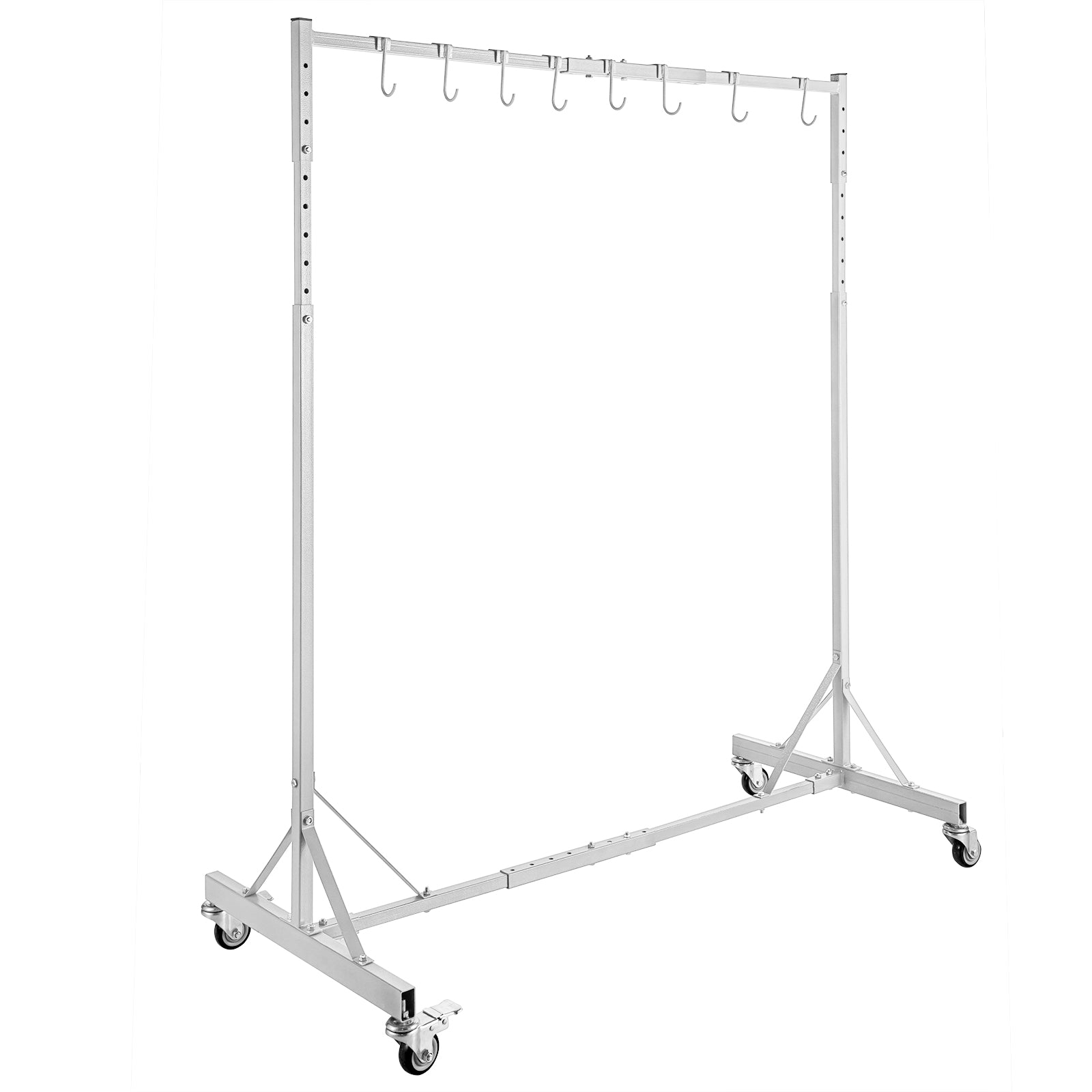 Automotive Spray Painting Rack Stand, Auto Body Shop Paint Booth Hood Parts