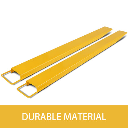 60x6.5inch Fork Extension Forklift Extensions For Forklift Truck Loaders