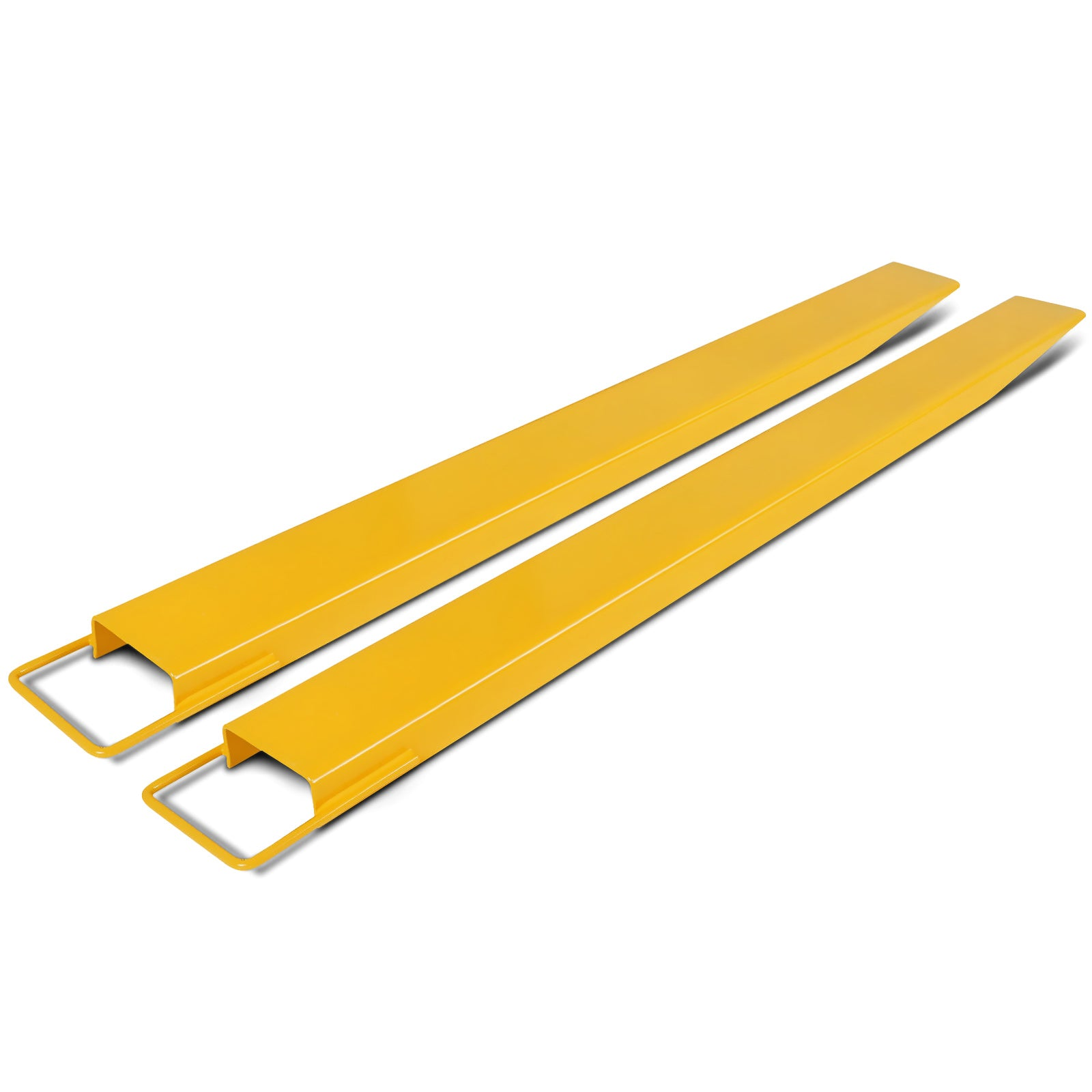 60''x 5.8'' Forklift Pallet Fork Extensions Pair 2 Fork Thickness Lift Truck
