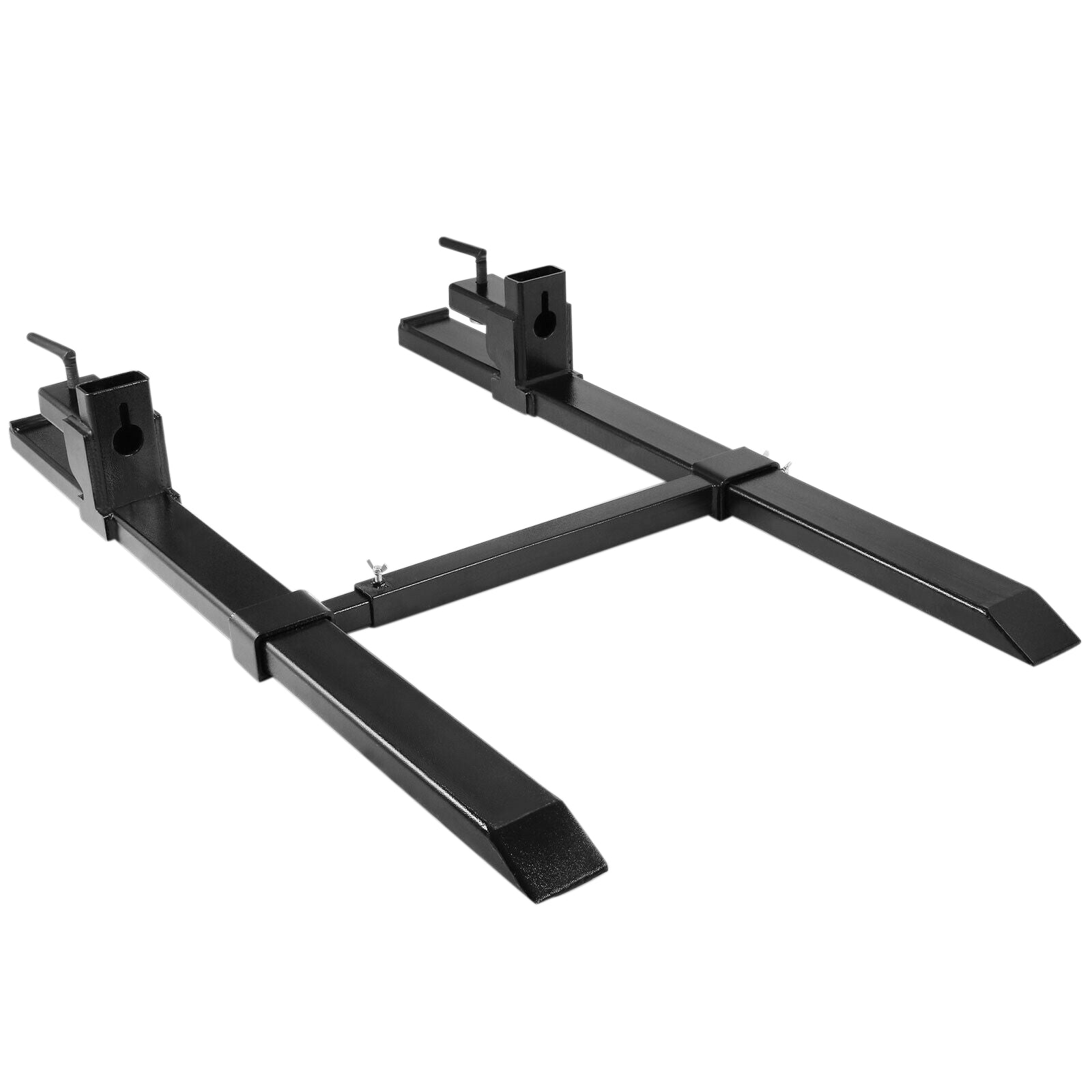 Hd 4000lbs Clamp On Pallet Forks Loader Bucket Tractor Stabilizer Bar