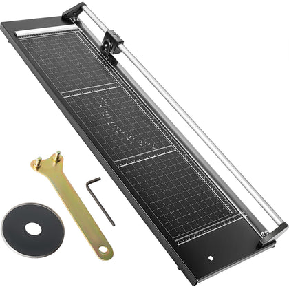 Vevor Precision Paper Trimmer Rotary Paper Trimmer 36 Inch Manual Paper Cutter