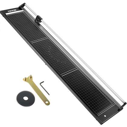 Vevor Precision Paper Trimmer Rotary Paper Trimmer 63 Inch Manual Paper Cutter