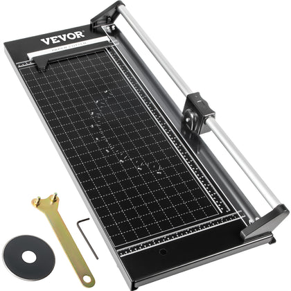 Vevor Precision Paper Trimmer Rotary Paper Trimmer 24 Inch Manual Paper Cutter