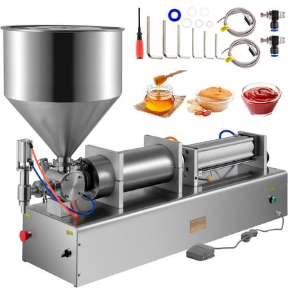 500-3000ml Liquid Filling Machine Pneumatic Paste Oil Viscosity, Single Head