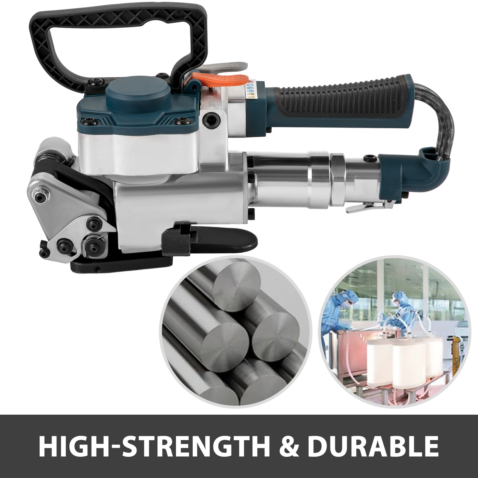 Pneumatic Strapping Tool Hand Held Strapping Machine 0.5-0.75in Pp/pet Belt B19