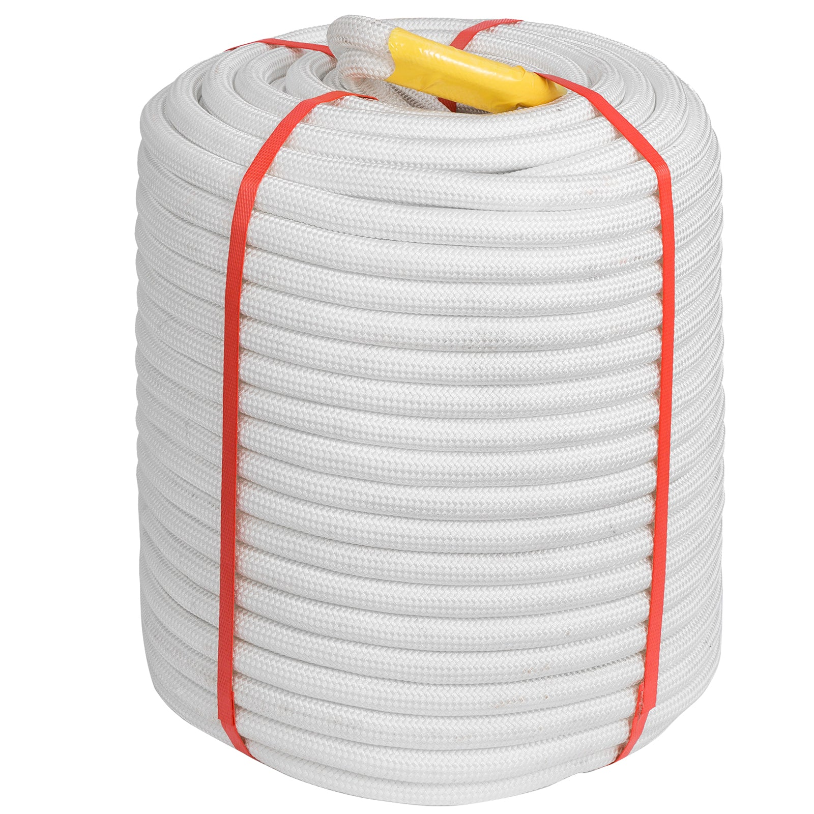 "1/2"" Double Braid Polyester Rope 300ft 8400 Breaking Strength"