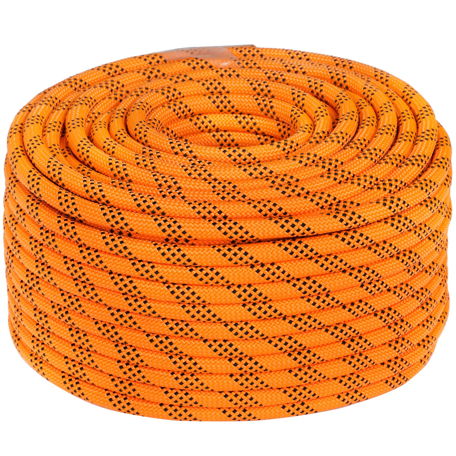 "7/16"" Double Braid Polyester Rope 150ft Dacron Rope 550kg Emergency Rappelling"