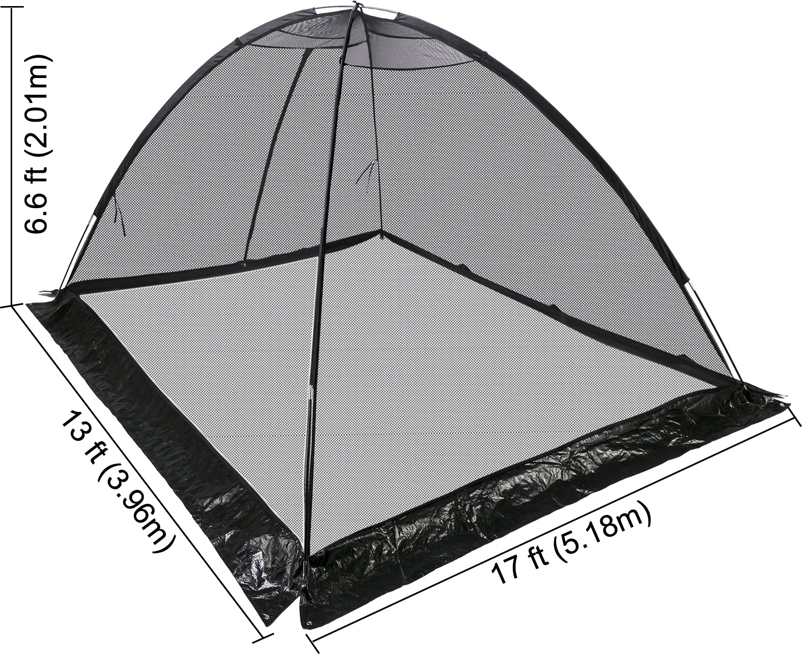 Vevor Garden Pond Cover Tent Dome Netting Pool Cover Protector13x17ft
