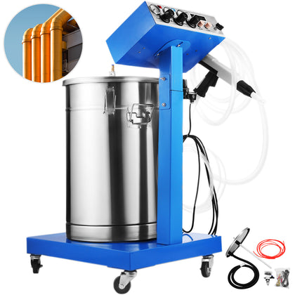 45l Powder Coating System Machine Electrostatic Deep Corners Paint System Wx-958
