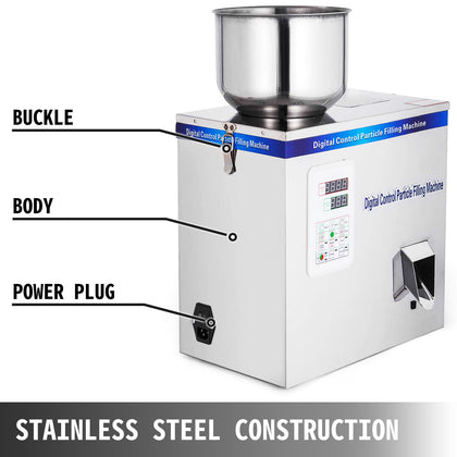 2-200g Particle Powder Subpackage Filling Filler Machine Shop Automatic Pack
