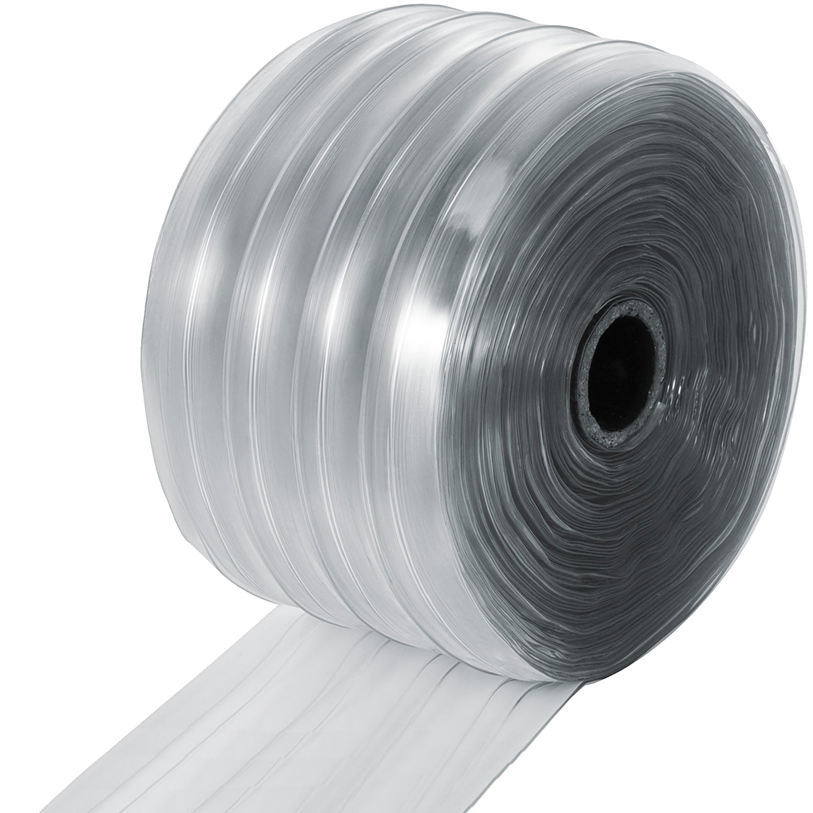 Pvc Strip Curtain 45m/147ft Roll Warehouse 2.5mm/0.1in Outdoor Mall Door Curtain