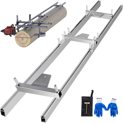 Chainsaw rail Mill Guide System 5ft 1.5m 2 Reinforce Trees Durable Reliable