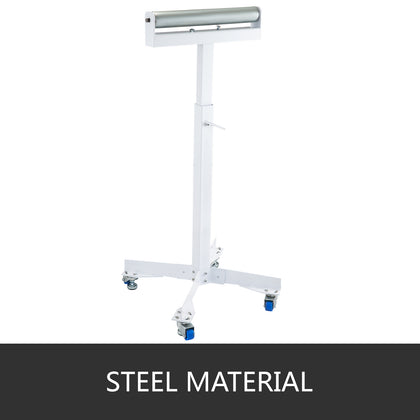 Roller Table Tools Stand Hss-18 With Adjustable Wedge Lock And Non-skid Casters