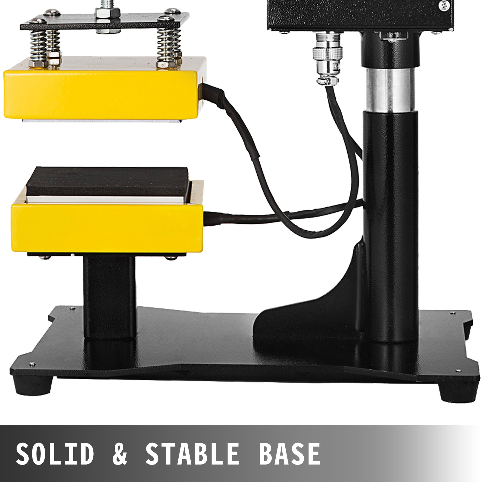 "5""x5"" Rosin Heat Press Machine Swing Away Quick Heat Up 0-250 Degree Celsius"