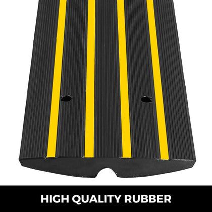 Car Driveway Curb Ramp Rubber Industrial-level Heavy Duty Garage Loading Dock
