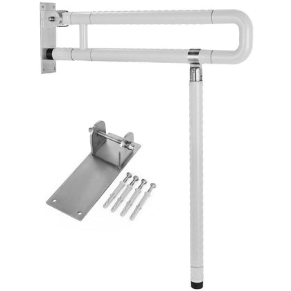 Foldable Safety Toilet Grab Bar Rails For Elderly Disability Aid.