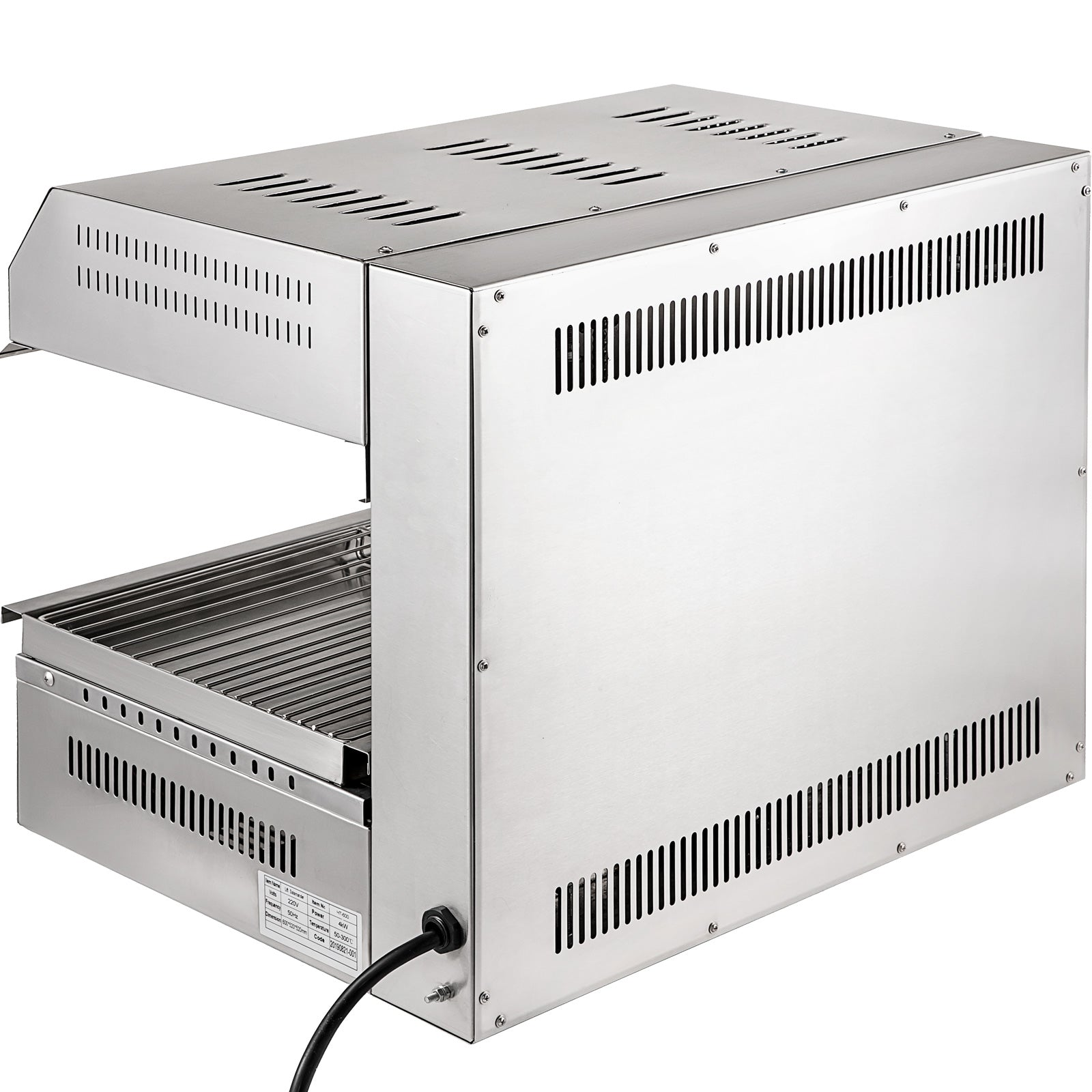 Cheese Melter Electric Cheesemelter 4000w Salamander Broiler Bbq Gril Countertop