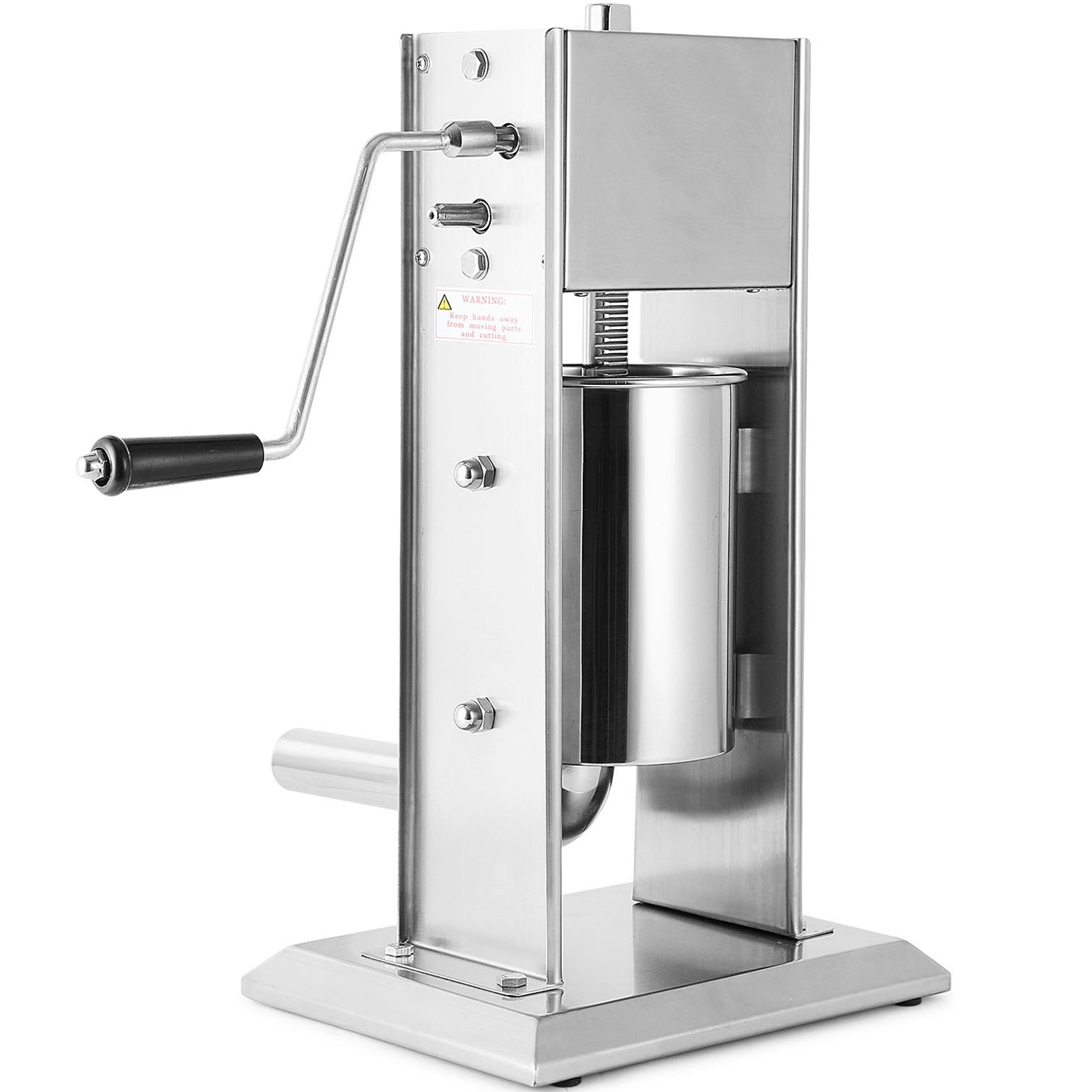 Sausage Stuffer Meat Filler Machine 3l Meat Press Stainless Steel Salami Maker