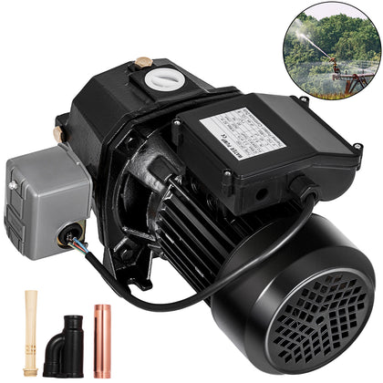 3/4 Hp Shallow Well Jet Pump W/ Pressure Switch Irrigation Heavy Duty Garden