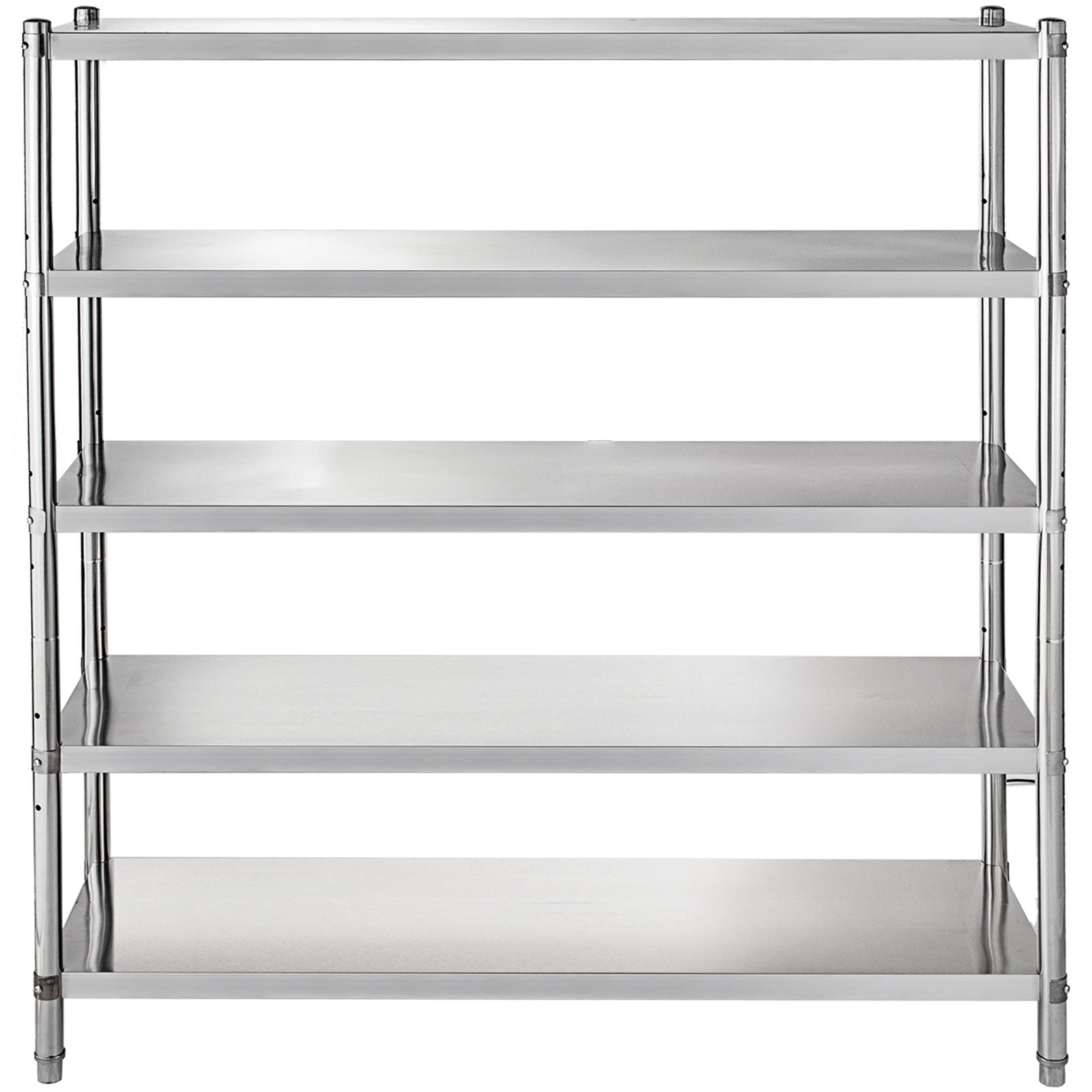 Kitchen Shelves Shelf Rack Stainless Steel Shelving Organizer Units 48*72 Inch