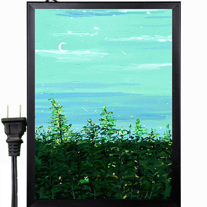 24x17 A2 Movie Poster Led Light Box Display Frame Storeadvertisingsignads Photo