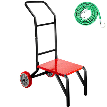 Vevor Stacking Chair Cart Banquet Stack Chair Dolly 110lbs Capacity For 7 Chairs