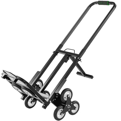 Stair Climbing Cart 330 Lbs Capacity Hand Truck With Backup Wheels