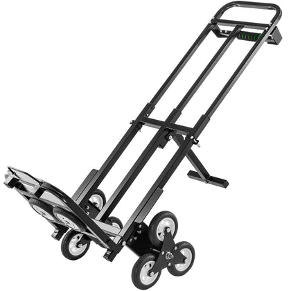 Heavy Duty Stair Climbing Cart 460 Lbs Capacity Hand Truck With Backup Wheels