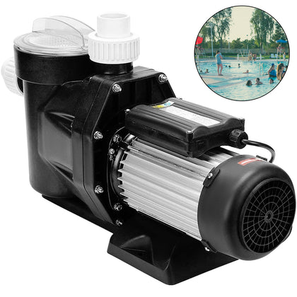 Swimming Pool Pump Inground Single Speed Motor Compatible 2.5hp 1850w 110v