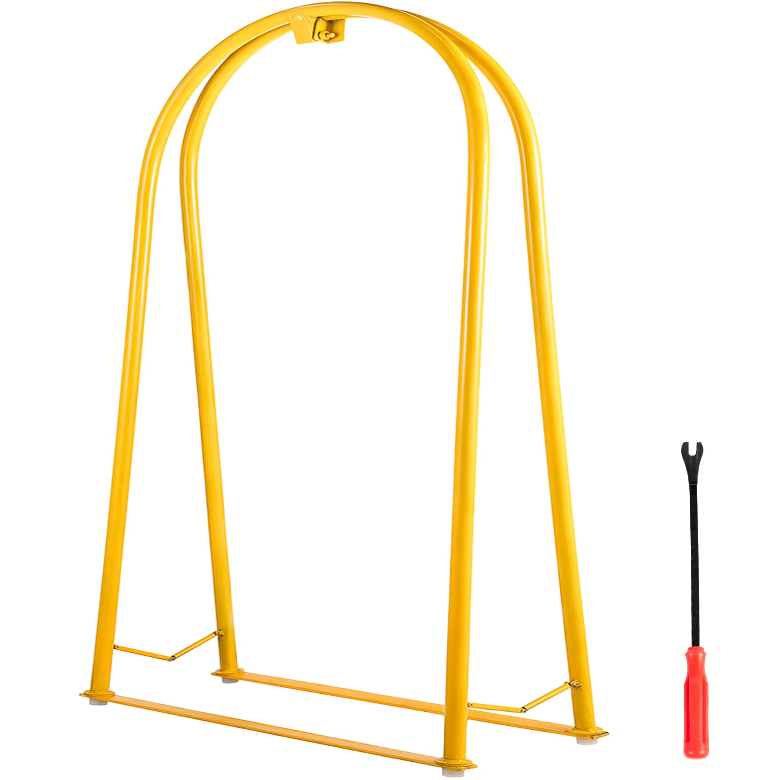 Tire Inflation Cage Tire Cage, 2-bar Car Tire Inflation Tool With A Tire Changer