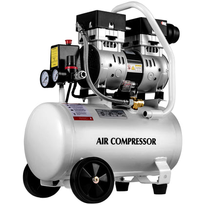 Vevor Ultra Quiet Air Compressor, Oil Compressor 4.75 Gallon Air Compressor