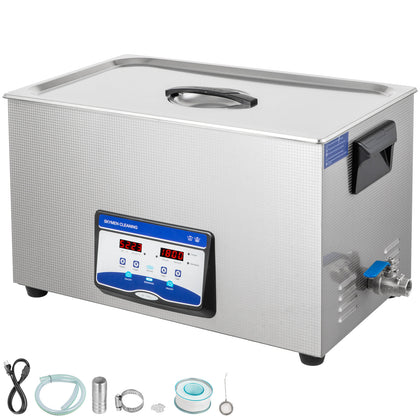 Ultrasonic Cleaner Ultrasonic Machine 30l 300/600w Degas Digital Sonic Cleaner