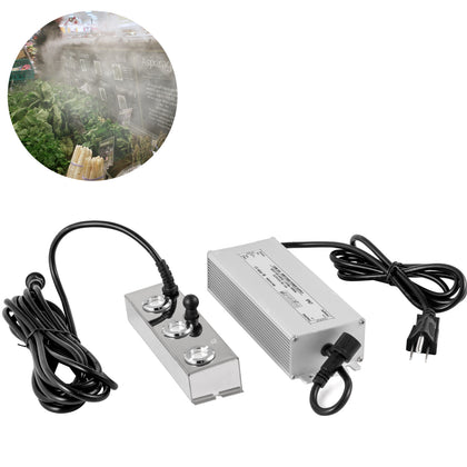 Pond Ultrasonic Mist Maker, Ultrasonic Fogger Humidifier, 3 Head Pond Fogger