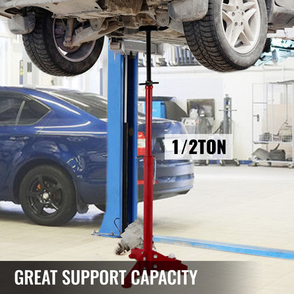 Under Hoist Auto Car Vehicle Support Stand 1000lbs 1/2 Ton Safety Jack Lift
