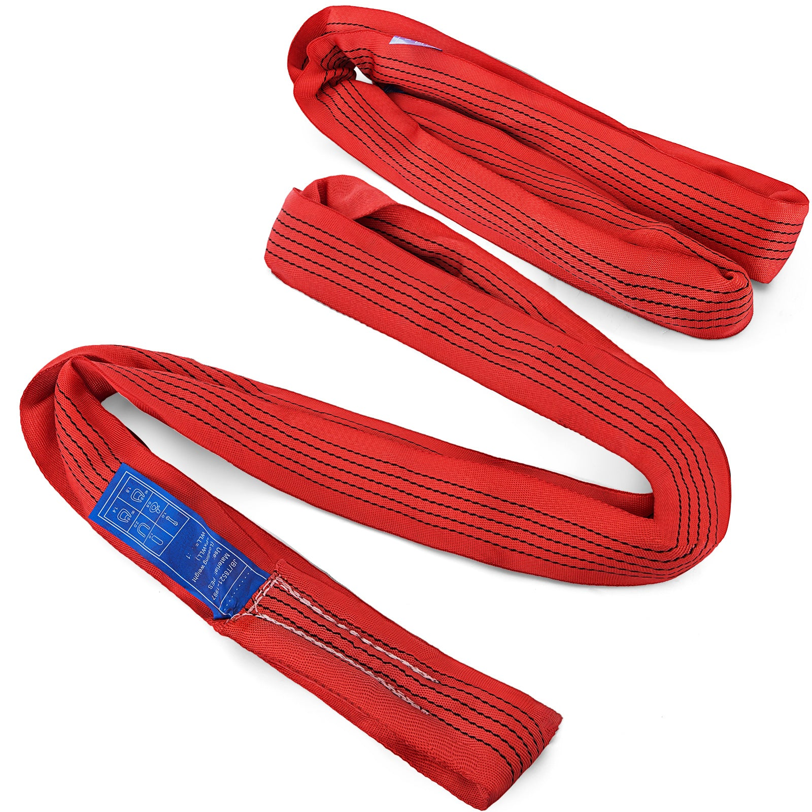 15ft Endless Round Lifting Sling 5t/11000lbs Anti- Corrosion Stable